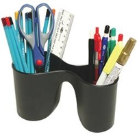 Marbig Enviro Duo Pencil Cup 100% Recycled Black