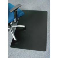 Marbig Enviro Polypropylene Chairmat 70% Recycled Rectangle Small 900X1200mm Black