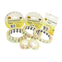 Marbig Office Tape 24mmx66M Clear