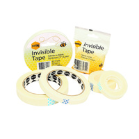 Marbig Invisible Tape 12mmx33m Clear