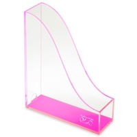Colourhide Glo Magazine Holder Pink