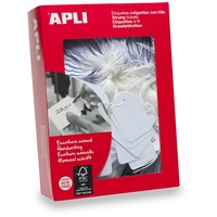 Apli 392 Strung Tickets 36X53mm White 500Bx