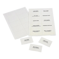 Rexel Convention Insert Cards - For Holders Pk250
