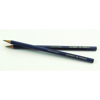 Marbig Pencils 2B Lead Blue Bx20