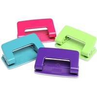 Marbig 2 Hole Punch Summer Colours Assorted