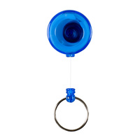 Rexel Mini Blue Retractable Key Holder