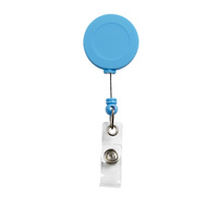 Rexel ID Soft Touch Badge Reel Retractable Blue