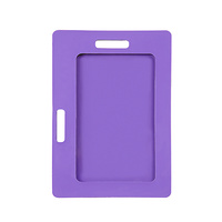 Rexel IS Soft Touch Card Holder Purple