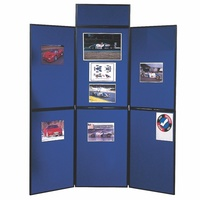 Nobo Portable Display Boards 6 Panel 900(H)X600(L)mm