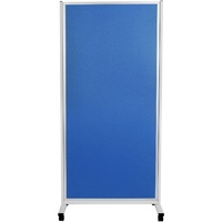 Mobile Display Panels Double Sided 180X90 cm Fabric Blue