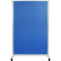 Mobile Display Panels Double Sided 180X120 cm Fabric Blue