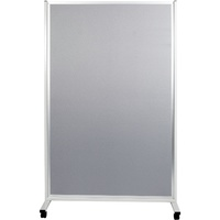 Mobile Display Panels Double Sided 180X120 cm Fabric Grey