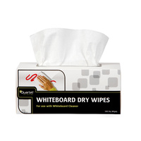 Quartet Dry Whiteboard Cleaning Wipes Bx180