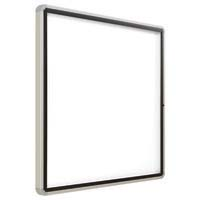 Quartet Enclosed Magnetic Whiteboard 965x990mm