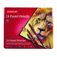 Derwent Pastel Pencils Set 24 Assorted