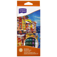 Derwent® Academy Oil Paints 12ml 12Pk