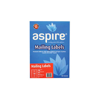 Aspire®  Laser/ Inkjet Labels Address 99.1 x 38.1mm 14/Sheet