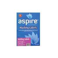 Aspire® Laser / Inkjet Label Address 99.1 x 34.0mm 16/sheet
