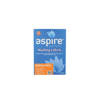 Aspire® Labels Laser/Inkjet Address 64.0 x 33.9mm 24/sheet