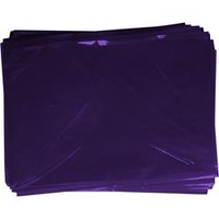 Rainbow Cellophane 750mmx1m Purple