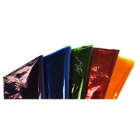 Rainbow Cellophane 750mmx1m Assorted Colours 25pk