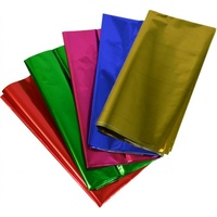 Rainbow Metallic Cellophane 500x750mm Assorted