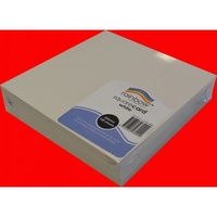 Rainbow Square Card 290gsm 203mm White Pk100