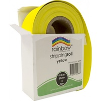 Rainbow Stripping Roll Ribbed 50mmx30m Yellow