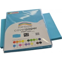 Rainbow Cover Paper 125gsm A3 Bright Blue