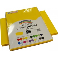Rainbow Cover Paper 125gsm A3 Gold
