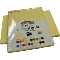 Rainbow Cover Paper 125gsm A3 Ivory Sand