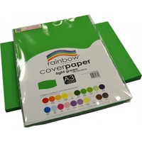 Rainbow Cover Paper 125gsm A3 Light Green