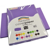 Rainbow Cover Paper 125gsm A3 Purple