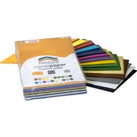 Rainbow Cover Paper A3 Assorted 125gsm Pk500
