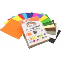 Rainbow Cover Paper A4 Assorted 125gsm Pk500