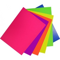 Rainbow Spectrum Board 200gsm  A3 Fluro Assorted 60 Pack