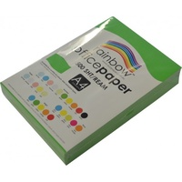 Rainbow Office Paper A4 80gsm Brights Green 500pk