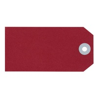 Avery Shipping Tags Size 4 108x54mm Red