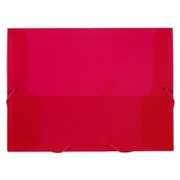 Avery PP Document File A4 25mm Translucent Red