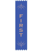 Avery Merit Ribbons 1St 150X35mm Satin Pk100