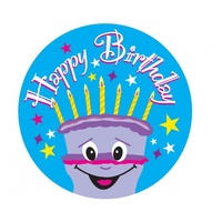 Avery Merit Stickers Happy Birthday 30mm Pk102
