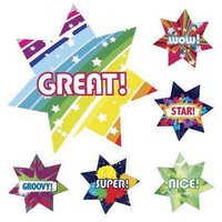 Avery Merit Sticker 102 Pack Dazzling Stars