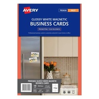 Avery IJ37 Business Cards Magnet 10 Sheet 90X52mm