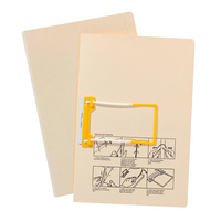 Avery Tubeclip Files Foolscap Buff Plain Box 20