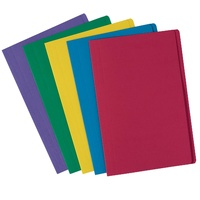 Avery Coloured Manilla Folders Foolscap Assorted