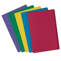 Avery Coloured Manilla Folders Foolscap Assorted 10Pk