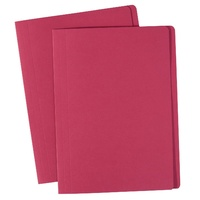 Avery Coloured Manilla Folders Foolscap Red
