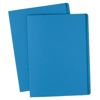 Avery Coloured Manilla Folders Foolscap Blue
