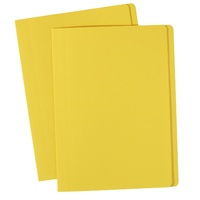 Avery Coloured Manilla Folders Foolscap Yellow