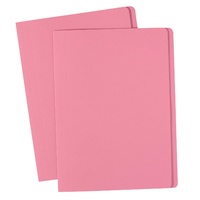 Avery Coloured Manilla Folders Foolscap Pink